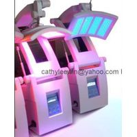 Chinese PDT LED Facial Skin Rejuvenation Beauty Care Therapy Machine Equipment Red Blue Lights treat