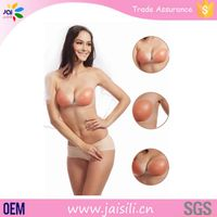 Lady Sexy Silicone Swimming Adhesive Push Up Invisible Silicone Bra