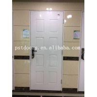 American Style Six Panel Steel Doors with Frame
