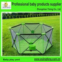 One Hand Foldable Playpen Baby
