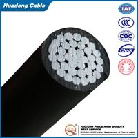 0.6/1kV Rated Voltage Al/XLPE Overhead ABC Cable (Aerial Boundled Cable)/Drop Service Cable