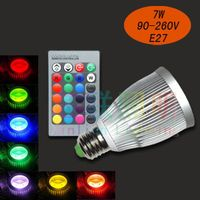 High CRI led rgb spotlight 7W led bulb spot light lamp with driver 2 years warrant