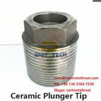 Ceramic Laser Plunger Tip for die casting machine