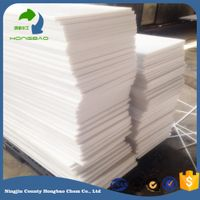 white hard plastic sheet/wear resistant plastic uhmw-pe board/Self-lubrication uhmw pe panel