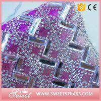 Best Quality Self Adhesive Crystal Rhinestone Scrapbook Sheet Sticker Letter