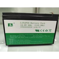 Lead acid replacement 12.8V 9Ah LiFePO4 battery