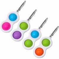 www.ottnovelty.com 900024Portable Mini Bubble Popper Fidget Keychain www.ottnovetly.com