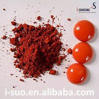 Colorful pigment powder for plastic coating