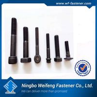 hex bolt DIN933 DIN931 zinc plated manufacturer supplier bolt