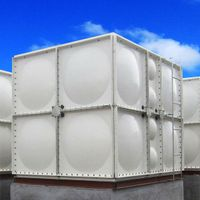 sectional FRP water tank SMC GRP water tank thumbnail image