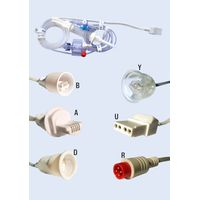 Disposable pressure transducer cable
