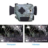P4-0118 Infrared Night Vision Monocular with Recording Video System for Hunting Goggles