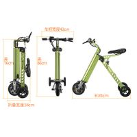 Unique electric scooter, foldable electric scooter motor, adult 2 wheel electric scooter(ES-033) thumbnail image