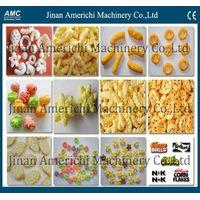 Cheese puffs/Puffed corn snack food making machine thumbnail image
