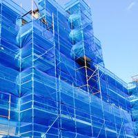 Construction safety net debris net scaffolding net for building thumbnail image