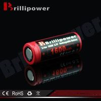 Best Price High Quality 3.7v 18500 Li-ion 1600mah Rechargeable Battery thumbnail image