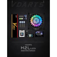Global Electronic Bluetooth dartboard with LED Light--VDarts H2L