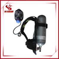 Fire fighting air breathing respirator SCBA