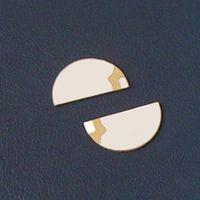 half-moon piezoelectric ceramic made of PZT-5A
