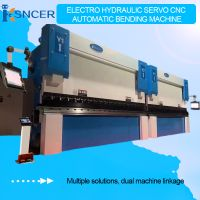 90T2.5M Electro Hydraulic Servo Automatic CNC Bending Machine