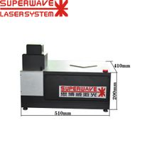 Diamond 40W Fiber Laser Cutting Engraving Machine