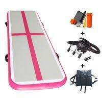 Joy Star Inflatable Gymnastics Tumbling Mat Air Floor Air Track Training Board