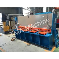 HotLower Price Hydraulic Swing Beam Shearing Machine, Guillotine Plate Shearing Machine thumbnail image