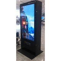 46 inch standing LCD display / kiosk with both-sided screen thumbnail image