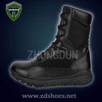 2015 High Response Zipper Side Combat Boots, Newest MAGNUM Black Military Boots