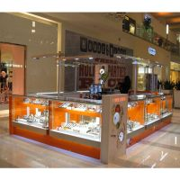 Jewelry display kiosk design from China and nice jewels display kiosk