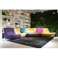 European Modern Colourful Fabric Big Style Sofa L8813