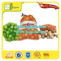 Made in china with competitive rate and ISO14001 approved small drawstring onion mesh bag thumbnail image