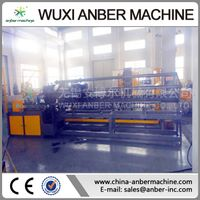 2m automatic double spiral chain link rhombus-net machine