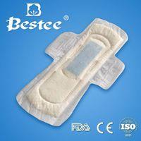 Dry mesh sanitary napkin
