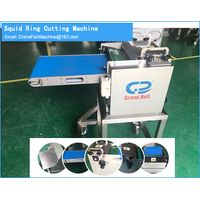 Squid processing machinery-Skinning-Cutting ring