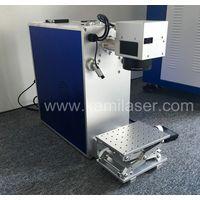20Watt Portable Mini Fiber Laser Engraving Machine for Steel, Aluminum, Brass, Gold, Silver