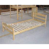 (WJZ-B19) wooden single bed frame thumbnail image