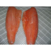 Frozen chum salmon fillet