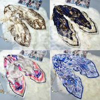 Women High Quality 100% Silk Fashion Scarf Long Scarves
