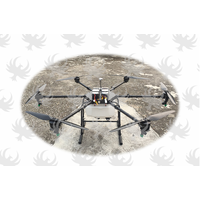 Heavy lift agricultural pesticide spraying drone uav crop sprayer drone with waypoints function