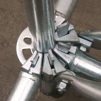 Ringlock Verical Standard Scaffolding Certified by EN12810/EN12811