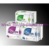 Ultra thin anion sanitary napkins