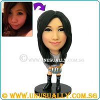 CUSTOM 3D UNUSUALLY MINIME FIGURINES THAT LOOK LIKE YOU - SCULTPED BY THE ORIGINAL 3D FIGURINE FOUND
