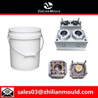 Plastic paint bucket mould by China supplier thumbnail image