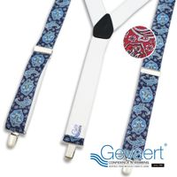 [GEVAERT] Suspenders 35mm Y-type paisley thumbnail image