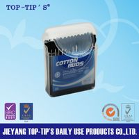 Plastic Stick Cotton Buds/Swabs/Tips Travel-sized