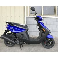 49cc/50cc/100cc China YAMAHA Engine Top EEC Delivery Gas/Fuel Scooter (SL100T-QG)