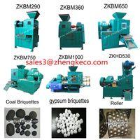 high pressure dry powder briquetting machine and briquette making machine