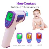 Digital Medical Infrared Digital Thermometer with LCD Display for Baby and Adults-
