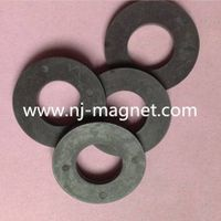 Customized Ring Shaped Permanent Ferrite Magnet